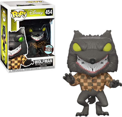 Funko Nightmare Before Christmas POP! Disney The Wolfman Exclusive Vinyl Figure #454 [Specialty Series]