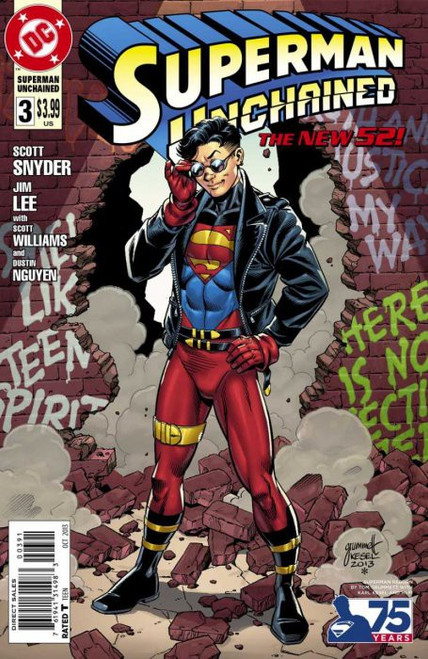DC Superman Unchained #3 Comic Book [Tom Grummet Variant]