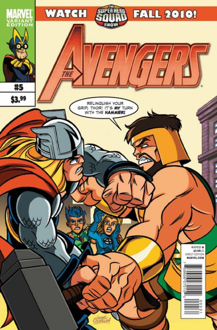 Marvel Comics Vol. 4 The Avengers #5 Comic Book [Leonel Castellani Variant]