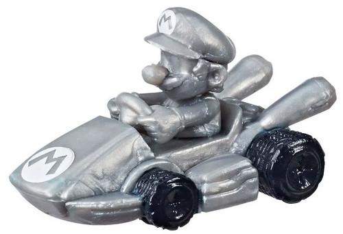 Monopoly MarioKart Board Game Power Pack Metal Mario 2-Inch Mini Figure