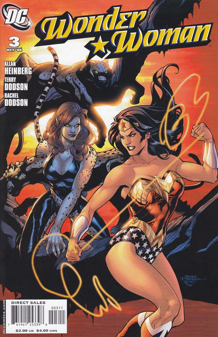 DC Vol. 3 Wonder Woman #3 Comic Book