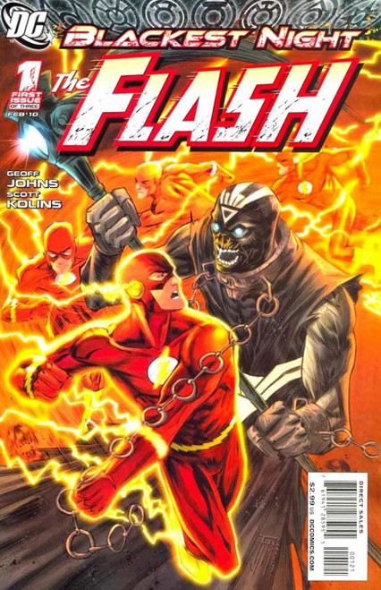 DC Blackest Night: The Flash #1 Comic Book [Francis Manapul Variant]