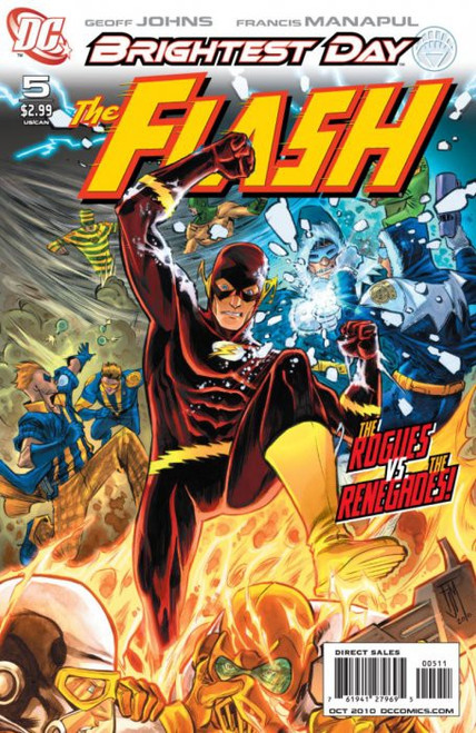 DC The Flash #5 Brightest Day Comic Book [Francis Manapul Variant]