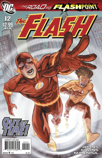 DC Vol. 3 The Flash #12 The Road to Flashpoint Comic Book