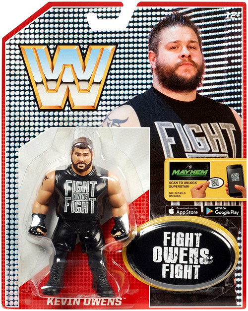 WWE Wrestling Retro Kevin Owens Action Figure [Fight Shirt]