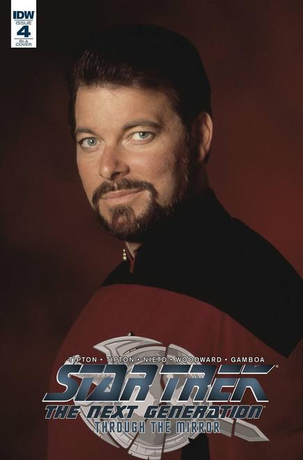 IDW Star Trek The Next Generation #4 Through the Mirror Comic Book [Photo Variant]
