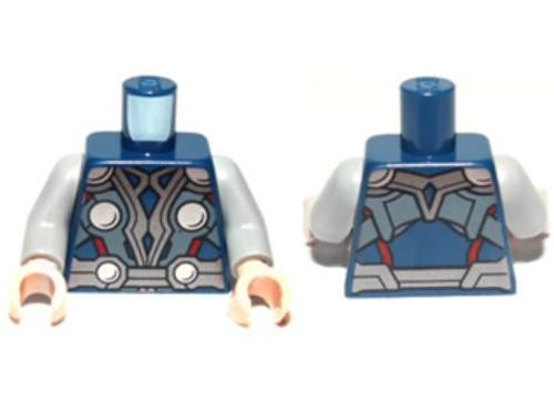 LEGO Armor with Silver Circles Loose Torso [Thor Loose]