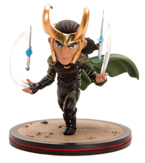 Marvel Thor: Ragnarok Q-Fig Loki 4.75-Inch Diorama Figure