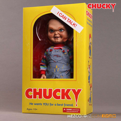 Child's Play Chucky Mega Scale TALKING Action Figure [Sneering] (Pre-Order ships January)