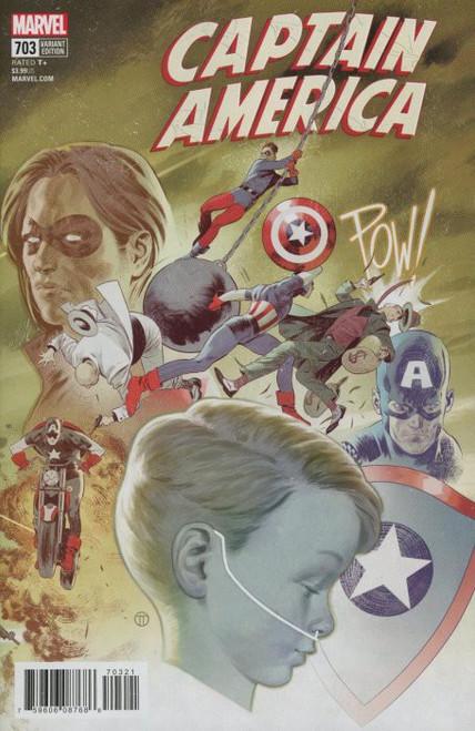 Marvel Comics Captain America #703 Comic Book [Tedesco Connecting Variant]