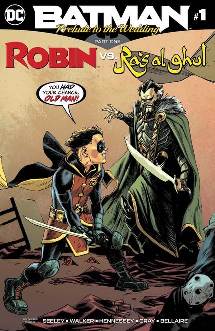 DC Batman Prelude to the Wedding Part One Robin vs. Ra's Al Ghul Comic Book