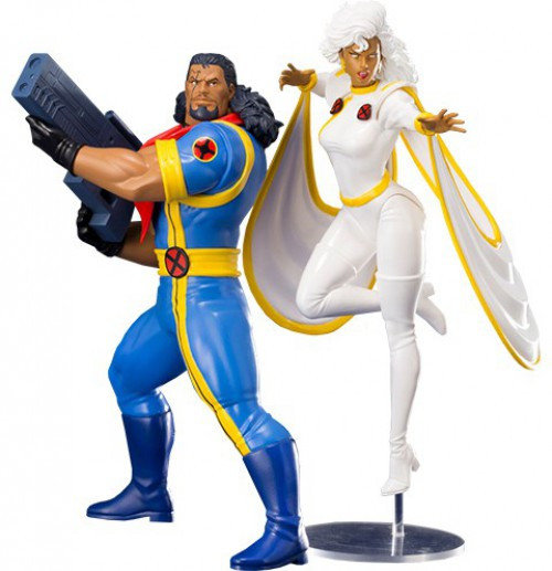 Marvel X-Men '92 ArtFX+ Bishop & Storm Statue 2-Pack