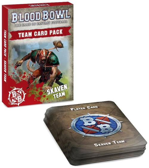 Blood Bowl Skaven Team Card Pack