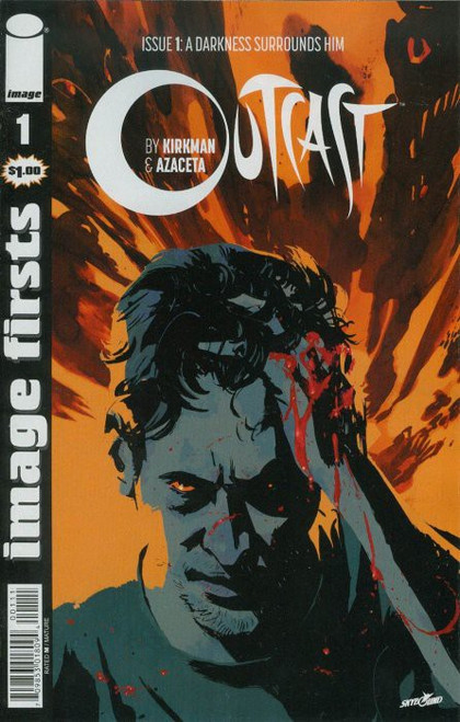 Image Comics Outcast #1 A Darkness Surrounds Him Comic Book [Image Firsts]