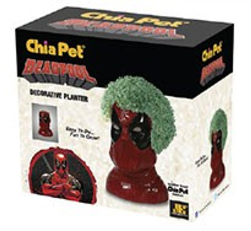 NECA Chia Marvel Deadpool Chia Pet