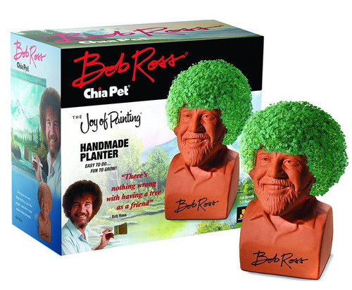 NECA Bob Ross Chia Pet