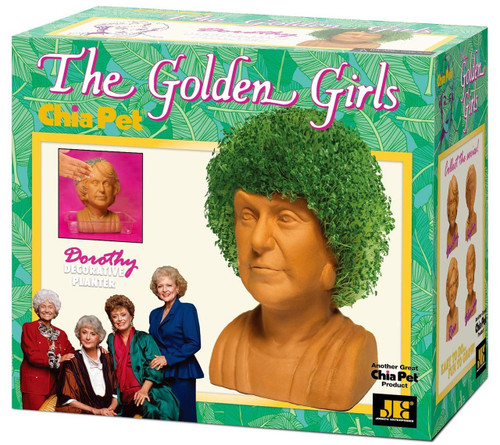 NECA Chia Golden Girls Dorothy Chia Pet