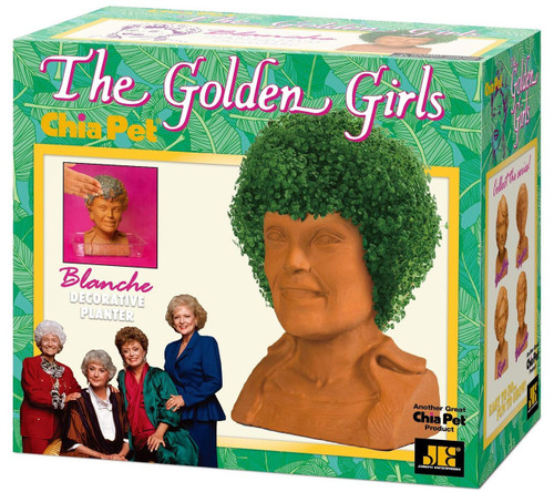 NECA Chia Golden Girls Blanche Chia Pet