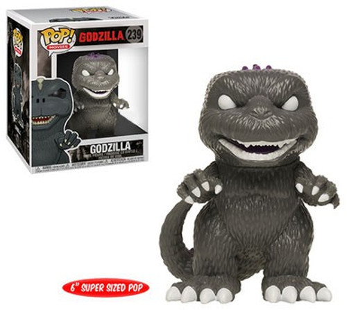 Funko POP! Movies Godzilla Exclusive 6-Inch Vinyl Figure [Black & White, Super-Sized]