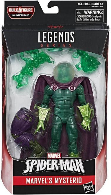 Spider-Man Marvel Legends Lizard Series Mysterio Action Figure [GREEN Head Version]