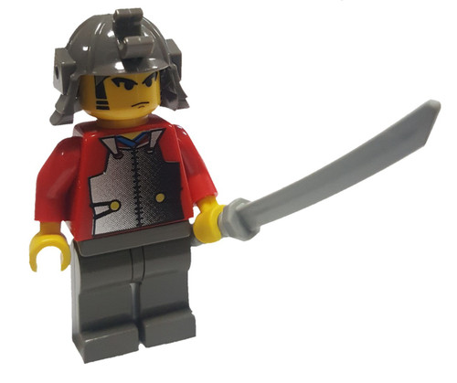 LEGO Red Samurai Minifigure [Young Loose]