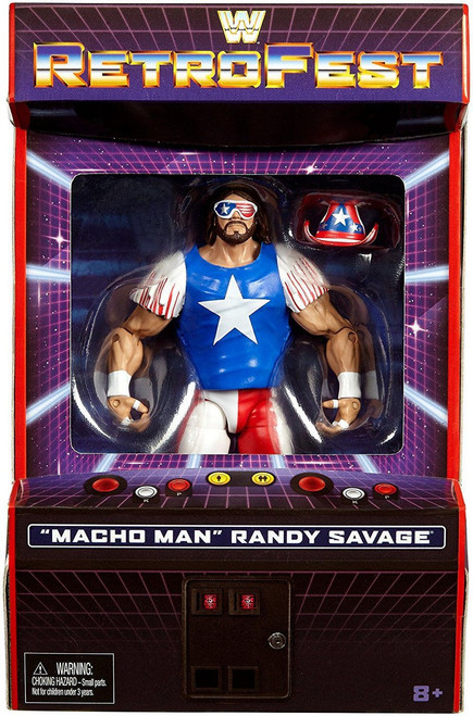 WWE Wrestling Elite Collection RetroFest Macho Man Randy Savage Exclusive Action Figure