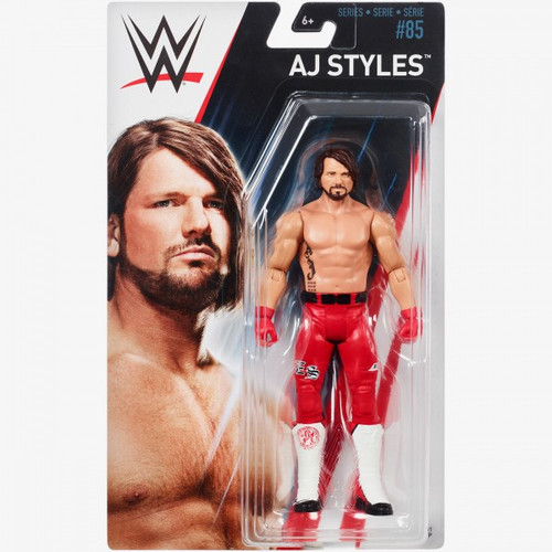 WWE Wrestling Series 85 AJ Styles Action Figure