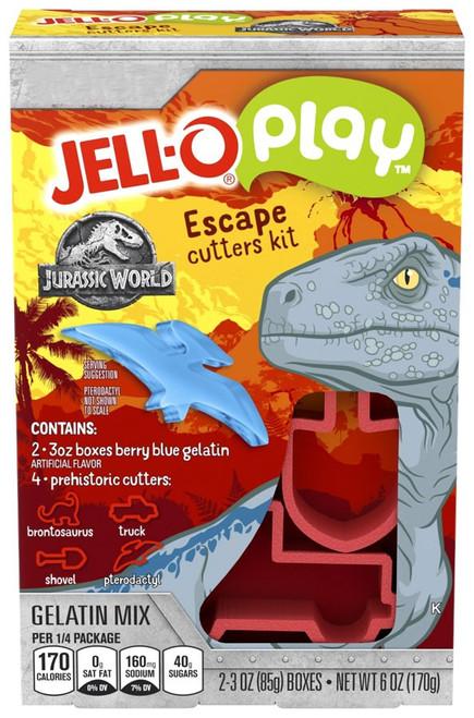 Jurassic World Jello Play Berry Blue Escape Cutters Kit Kit
