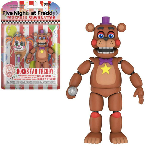 Funko Five Nights at Freddy's Pizzeria Simulator Rockstar Freddy Action Figure [Scrap Baby Part]