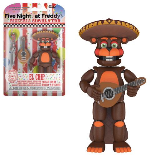 Funko Five Nights at Freddy's Pizzeria Simulator El Chip Action Figure [Scrap Baby Part]
