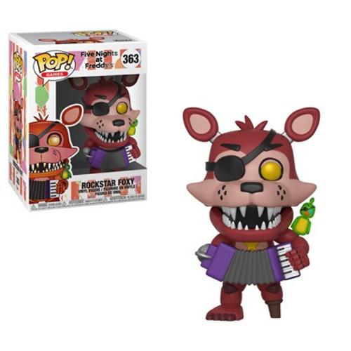 Funko Five Nights at Freddy's Pizza Simulator POP! Games Rockstar Foxy Vinyl Figure #363