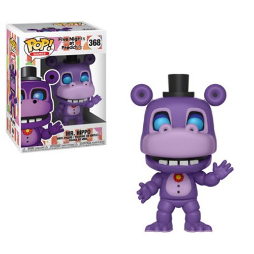Funko Five Nights at Freddy's Pizza Simulator POP! Games Mr. Hippo Vinyl Figure #368