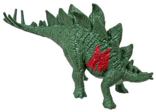 Jurassic World Matchbox Battle Damage Mini Dinosaur Figure Stegosaurus 2-Inch Mini Figure [Loose]