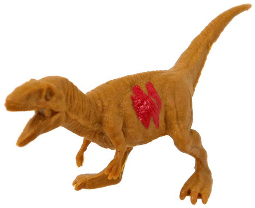 Jurassic World Matchbox Battle Damage Mini Dinosaur Figure Metriacanthosaurus 2-Inch Mini Figure [Loose]