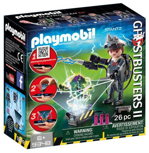 Playmobil Ghostbusters II Raymond Stantz Set #9348