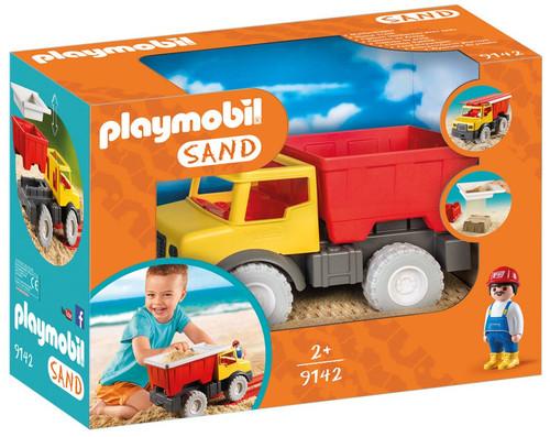 Playmobil Sand Dump Truck Set #9142