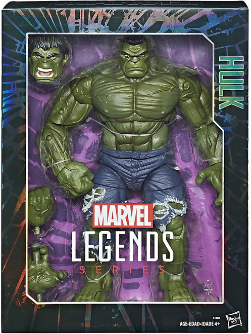 Marvel Legends Hulk Deluxe Collector Action Figure [Damaged Package]