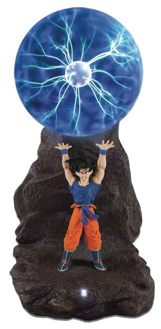 Dragon Ball Son Goku Spirit Bomb Plasma Ball Lamp Statue