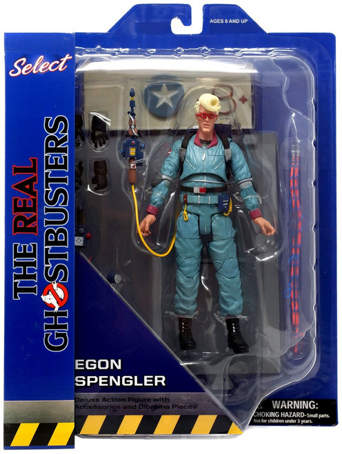 The Real Ghostbusters Select Series 9 Egon Spengler Action Figure [Animated Version]