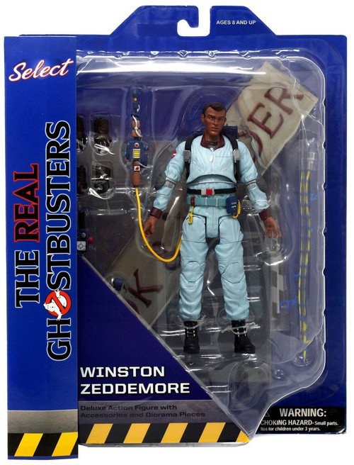 The Real Ghostbusters Select Series 9 Winston Zeddemore Action Figure [Animated Version]