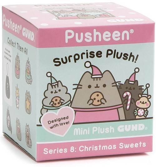 Pusheen Series 8 Christmas Sweets Mystery Pack [1 RANDOM Mini Plush]