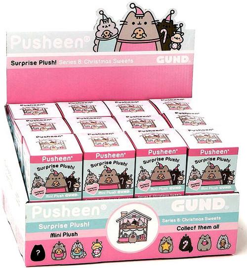 Pusheen Series 8 Christmas Sweets Mystery Box [24 Packs]