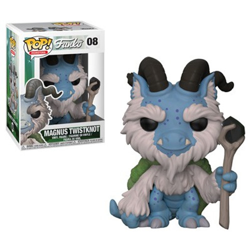 Funko Wetmore Forest POP! Monsters Magnus Twistknot Vinyl Figure #08
