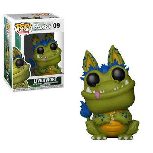 Funko Wetmore Forest POP! Monsters Liverwort Vinyl Figure #09