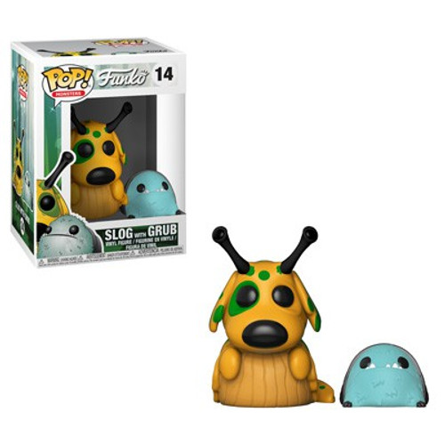 Funko Wetmore Forest POP! Monsters Slog with Grub Vinyl Figure #14 [Regular Version]