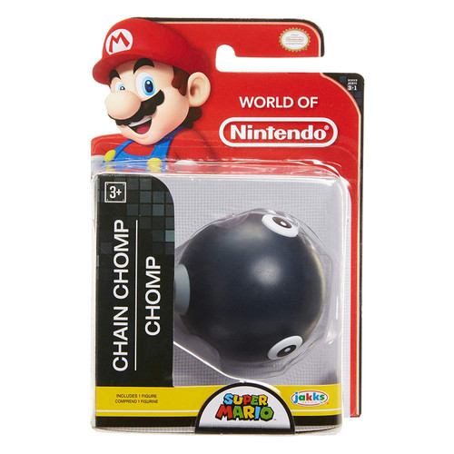World of Nintendo Super Mario Wave 18 Chain Chomp 2.5-Inch Mini Figure [Wave 16]