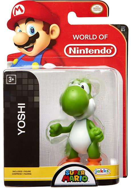 World of Nintendo Super Mario Wave 17 Yoshi 2.5-Inch Mini Figure [Green]