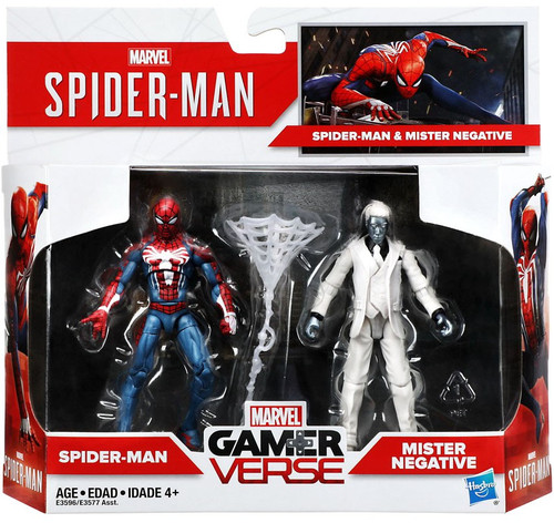 Marvel Gamerverse Spider-Man & Mister Negative Exclusive Action Figure 2-Pack