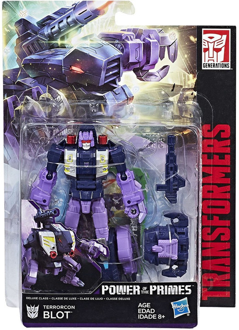 Transformers Generations Power of the Primes Terrorcon Blot Deluxe Action Figure