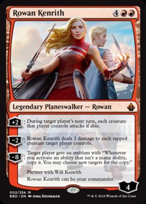 MtG Battlebond Mythic Rare Rowan Kenrith #2